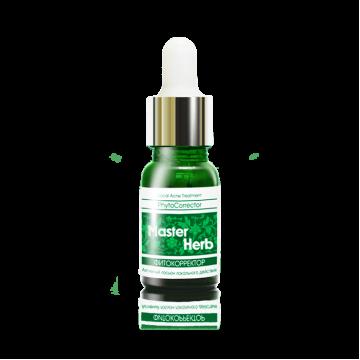 Активный лосьон-фитокорректор локального действия Master Herb