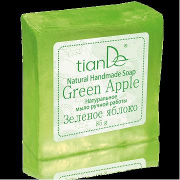 Натуральное мыло ручной работы «Зеленое яблоко»