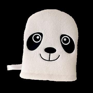 Детская мочалка-рукавичка Baby Bambo